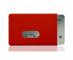 RFID / NFC 1x Schutzh�lle Fred Red